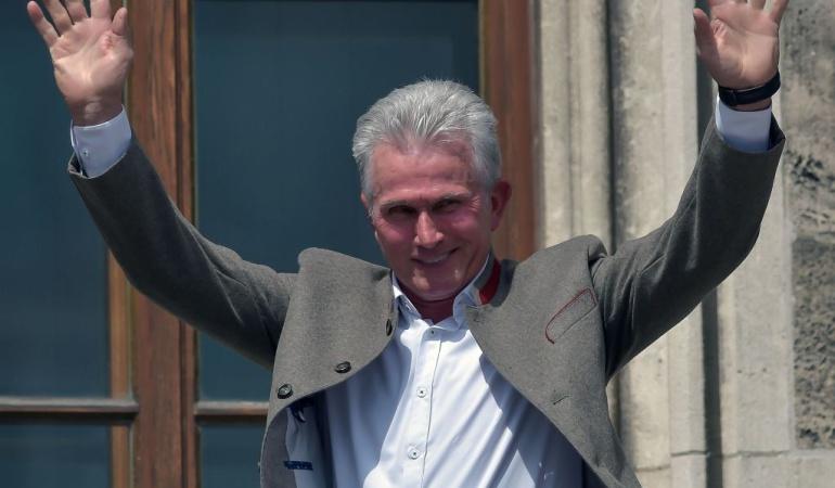 James Bayern Múnich título Bundesliga: James y Bayern celebraron título de la Bundesliga y despidieron a Heynckes