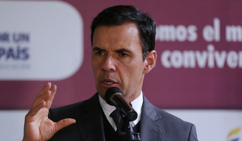 Ministro del Interior Guillermo Rivera