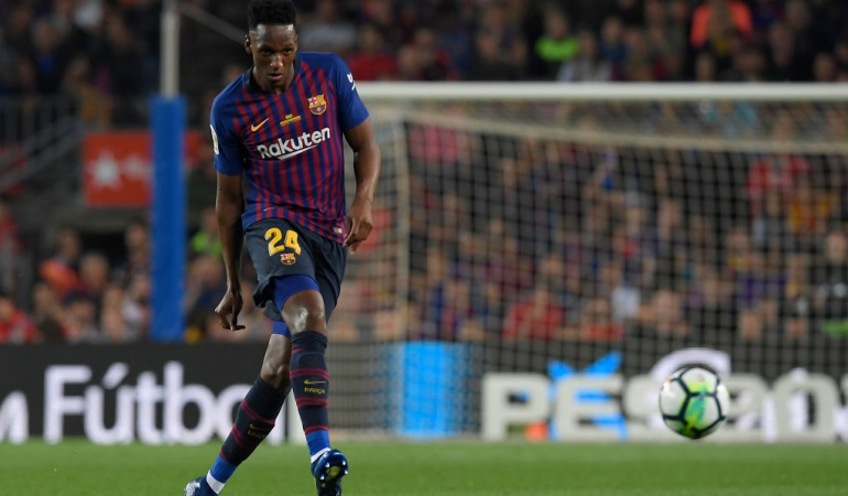 Yerry Mina Barcelona: Quiero estar en el Barcelona la próxima temporada, para eso vine: Mina