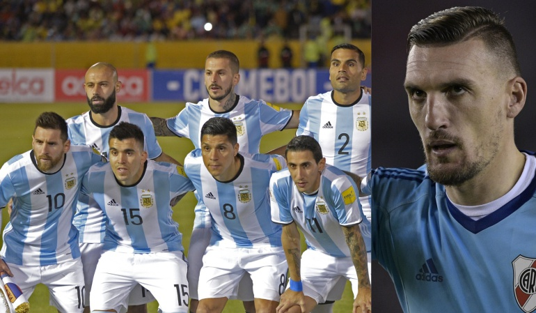 Franco Armani Selección Argentina Mundial Rusia 2018: Argentina publica sus 23 mundialistas; Armani es la principal novedad