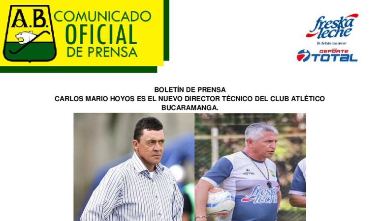Atlético Bucaramanga: Atlético Bucaramanga anunció su nuevo técnico