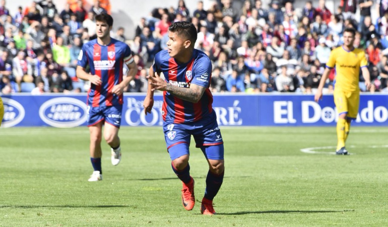 Cucho Hernández: Con el 'Cucho' Hernández como figura el Huesca ascendió a Primera División