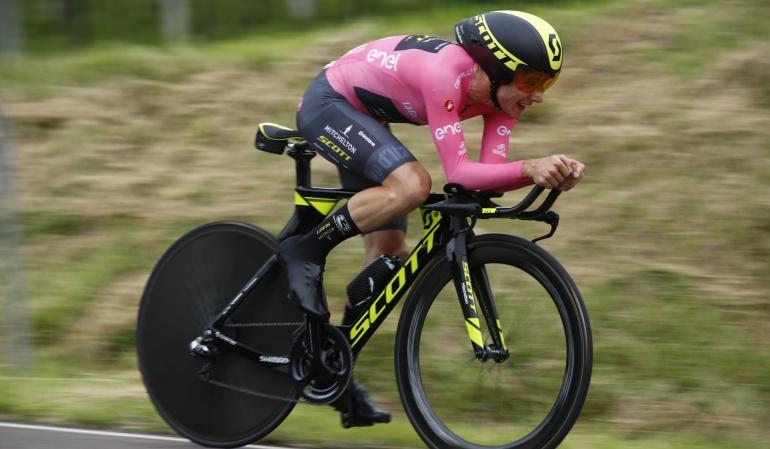 Etapa 16 Giro Italia: Rohan Dennis ganó la etapa 16; Yates sigue de líder y López cayó 2 puestos