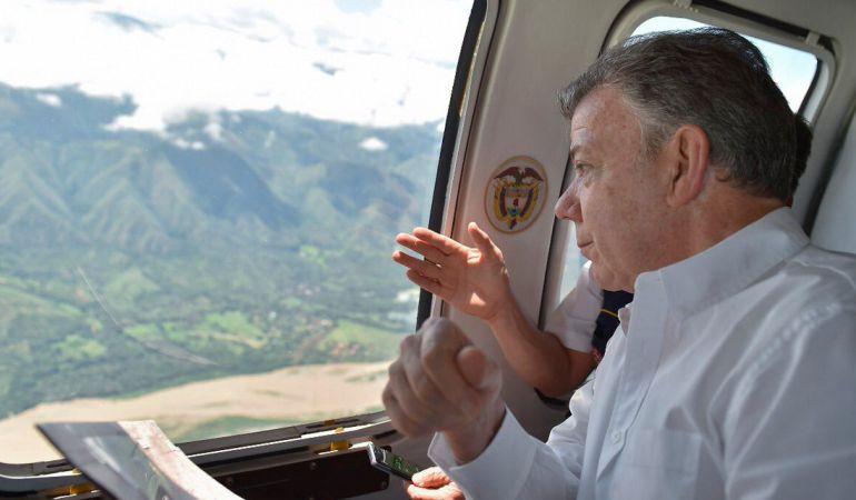 Emergencia de Hidroituango: Mañana se acabará el riesgo de una avalancha en Hidroituango: Santos