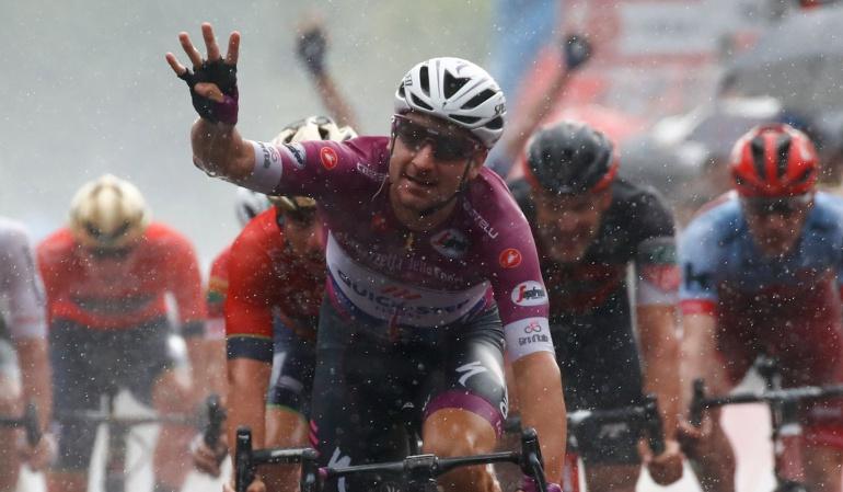 giro italia Viviani: Viviani queda con la etapa 17; Yates mantiene liderato