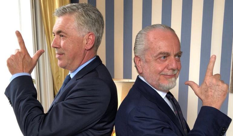 Carlo Ancelotti: Carlos Ancelotti es el nuevo técnico del Napoli de Italia