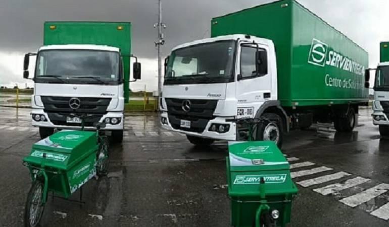 camiones eco-amigables: Servientrega adquirió nuevos camiones eco-amigables 'Green Car'