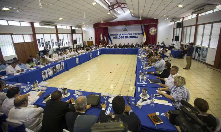 crisis sociopolítica Nicaragua: Suspenden el diálogo nacional en Nicaragua ante falta de consenso