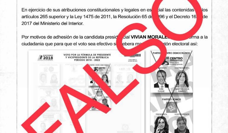 Denuncias CNE Anular Voto: CNE denuncia resolución falsa que invita a anular el voto