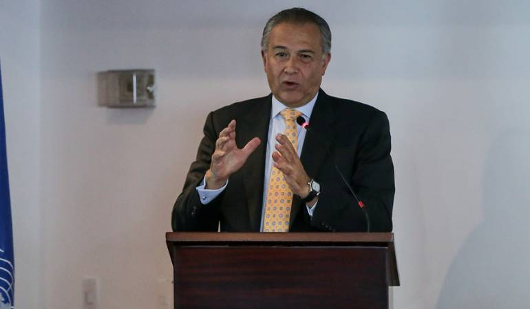 General (R) Óscar Naranjo, Vicepresidente de la República
