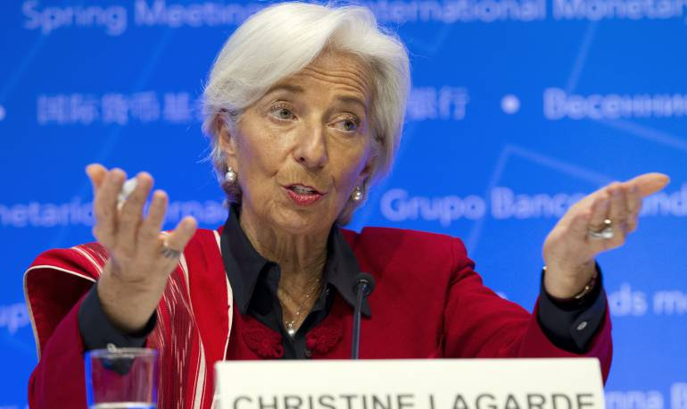 La Directora Gerente del Fondo Monetario Internacional (FMI) Christine Lagarde