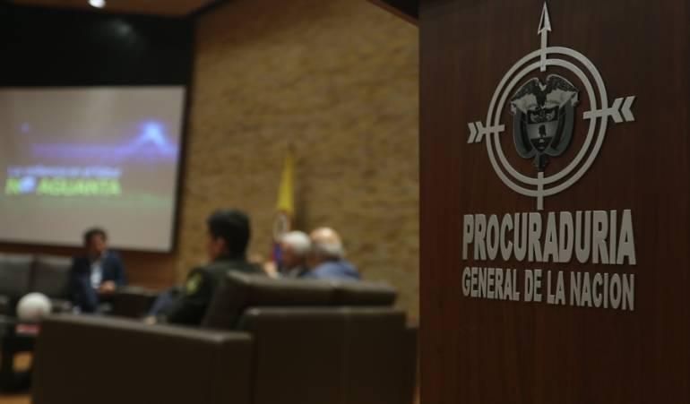 Investigaciones de la Procuraduría: 70 investigaciones tiene la Procuraduría a funcionarios por política
