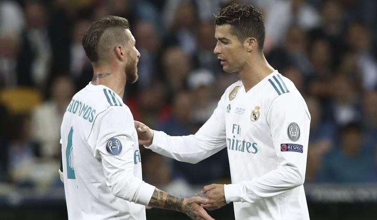 """Champions League Sergio Ramos: Ramos sobre Cristiano: """"En ningún lugar estaría mejor aquí"""""""