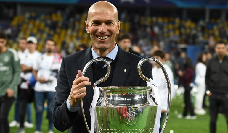 """Champions League Zinedine Zidane: Zidane: """"Con talento, trabajo e ilusión lo hemos conseguido"""""""