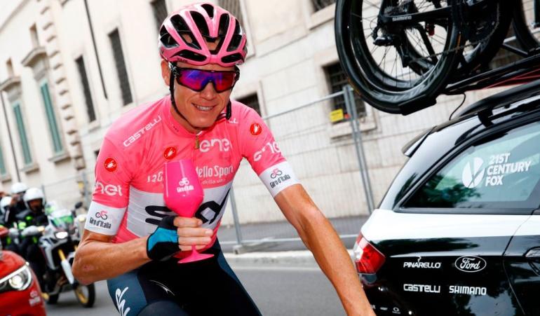 Froome Campeón Giro de Italia: Froome es formalmente campeón del Giro de Italia