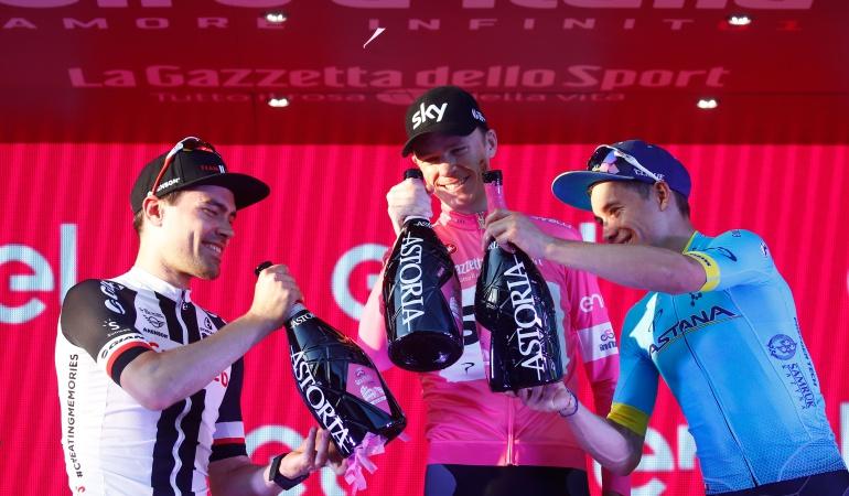Colombia Grandes Vueltas: Colombia alcanzó su podio número 17 en las grandes vueltas del ciclismo