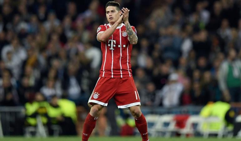 Champions League: James Rodríguez fue incluido en el 'escuadrón' de la Champions 2017/2018