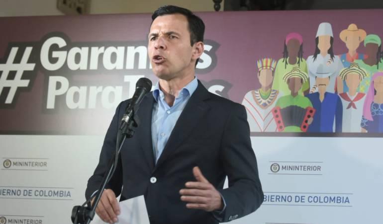 Elecciones Presidenciales De Colombia 2018: Un 100% se redujo la alteración al orden público en elecciones: MinInterior