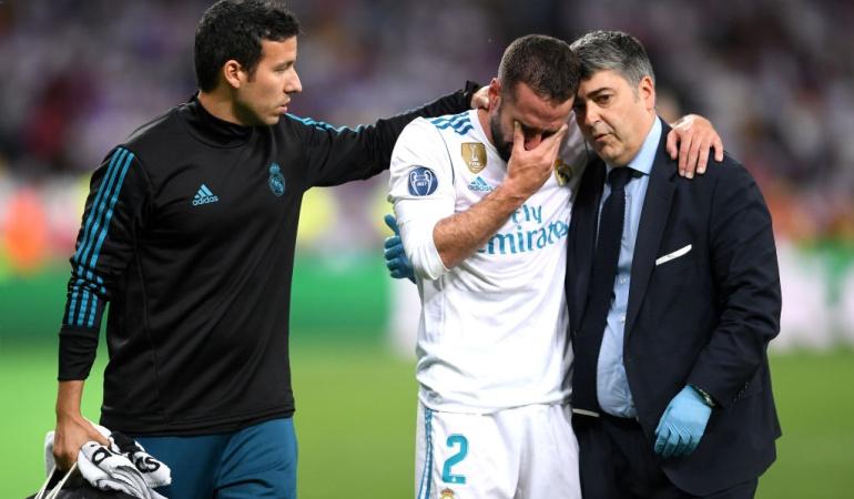 Dani Carvajal Real Madrid España Rusia 2018: Esperanza para Carvajal: tendría entre dos y tres semanas de recuperación