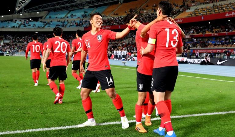Corea del Sur 2-0 Honduras: Corea del Sur venció 2-0 a Honduras en amistoso de preparación a Rusia