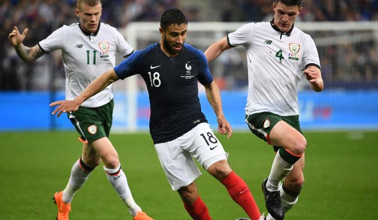 """mundial rusia 2018 francia: Una versión """"B"""" de Francia se divierte ante Irlanda previo al Mundial"""