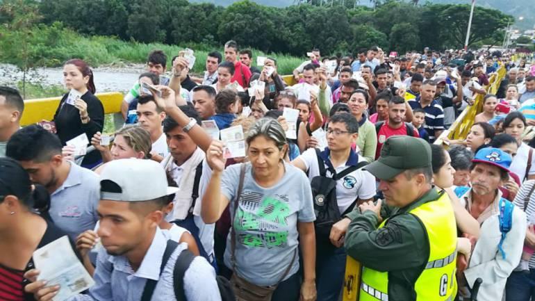 Migración venezolana.: La CIDH y la ONU piden una respuesta regional a la inmigración venezolana