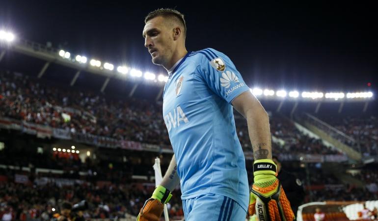 Franco Armani renovación: Franco Armani renovó su contrato con River Plate