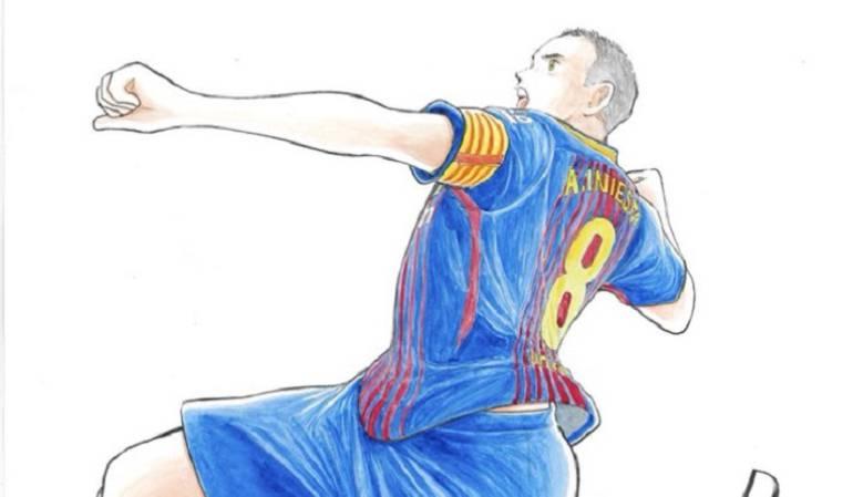 Vissel Kobe: Como un 'Supercampeón' es recibido Iniesta en Japón