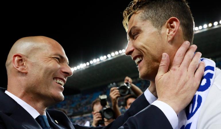 "Zinedine Zidane Cristiano Ronaldo Real Madrid: Cristiano Ronaldo sobre Zidane: ""siento orgullo de haber sido tu jugador"""