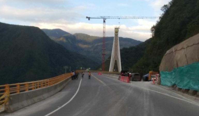 Obras puente de Chirajara: Coviandes paga multa de $10 millones por no iniciar obras del Chirajara
