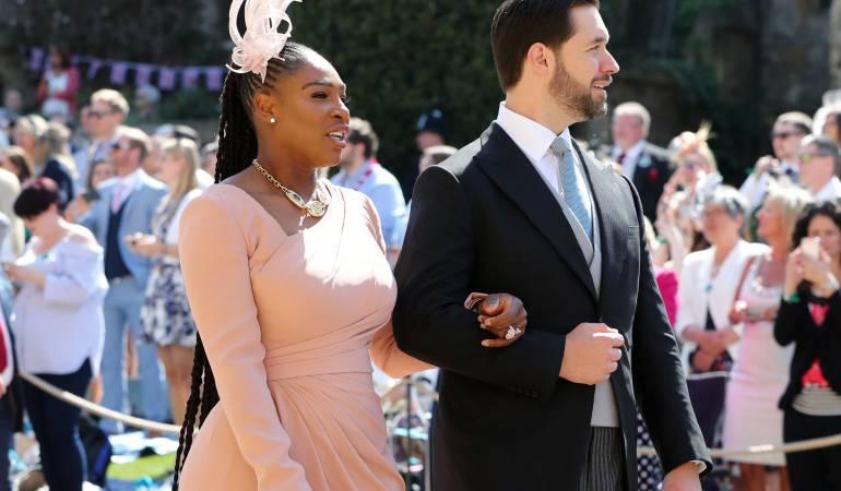 Serena Williams y su esposo