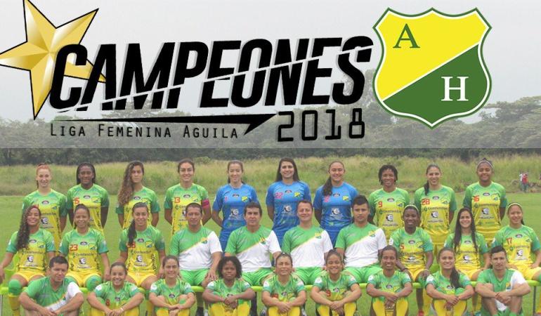 Atlético Huila Campeón: Atlético Huila se coronó campeón de la Liga Águila femenina