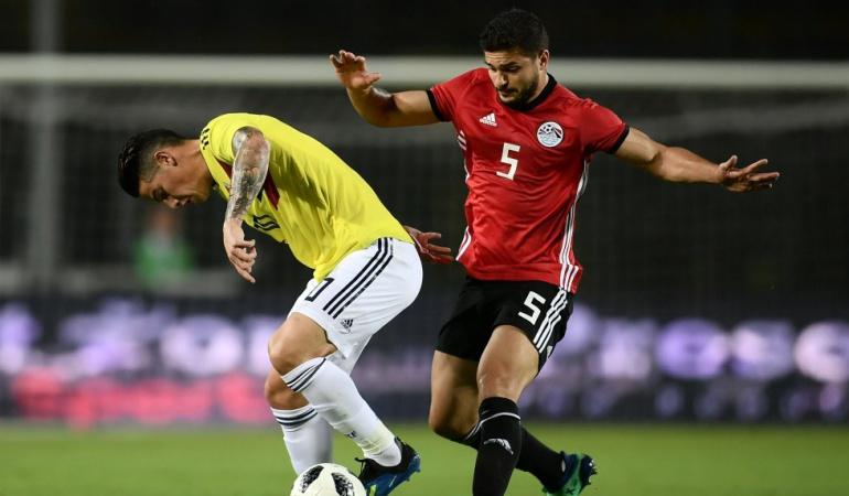 Mundial 2018: Colombia igualó sin goles ante Egipto previo a Rusia 2018