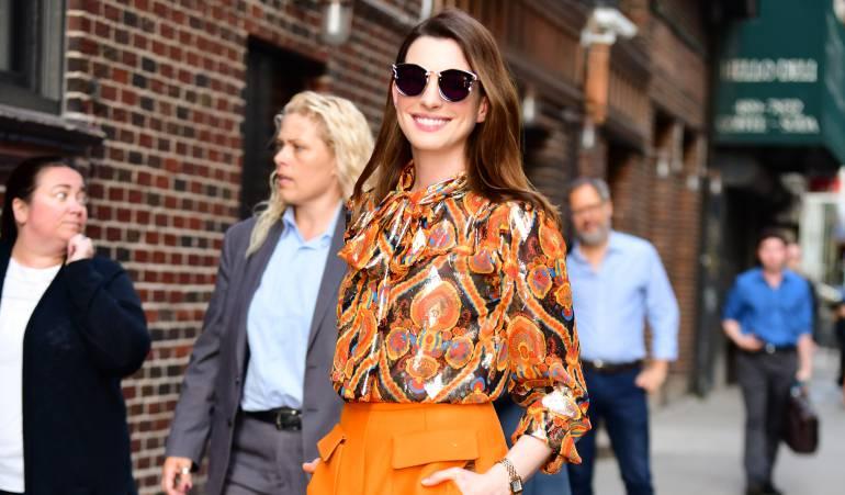 ¿Está demasiado delgada esta actriz de Hollywood?: Anne Hathaway es criticada por su peso