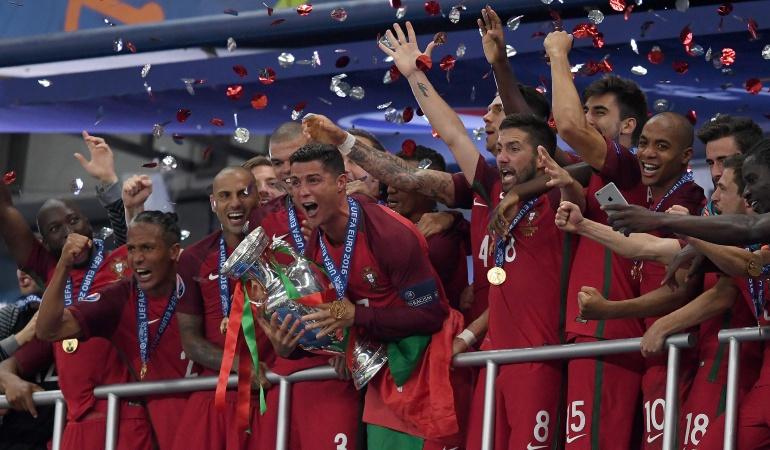 Selección de Portugal Mundial de Rusia 2018: Portugal jugaría el Mundial con la estrategia con que ganó la Eurocopa 2016