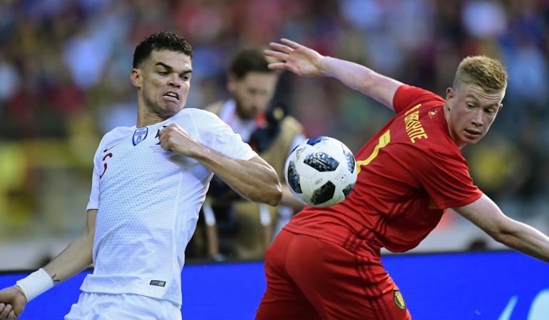 Bélgica Portugal amistoso Mundial de Rusia 2018: Bélgica y Portugal igualaron 0-0 en un partido sin emociones
