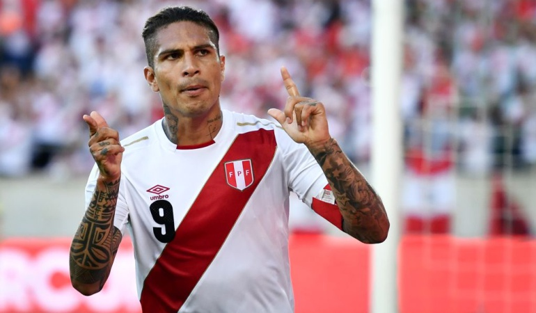 Paolo Guerrero doblete Perú Arabia Saudi: Paolo Guerrero, doblete y victoria en su regreso a la selección de Perú