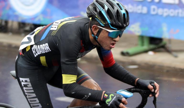 Colombia Ecuador ciclismo ruta Juegos Suramericanos: Colombia y Ecuador dominan ciclismo de ruta en jornada pasada por lluvia
