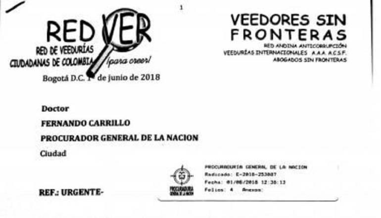 Piden a la Fiscalía trasladar procesos de Hidroituango a Bogotá