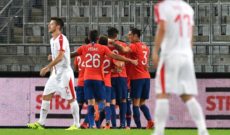 Chile 1-0 Serbia Reinaldo Rueda: La Chile de Reinaldo Rueda venció a la clasificada al Mundial Serbia