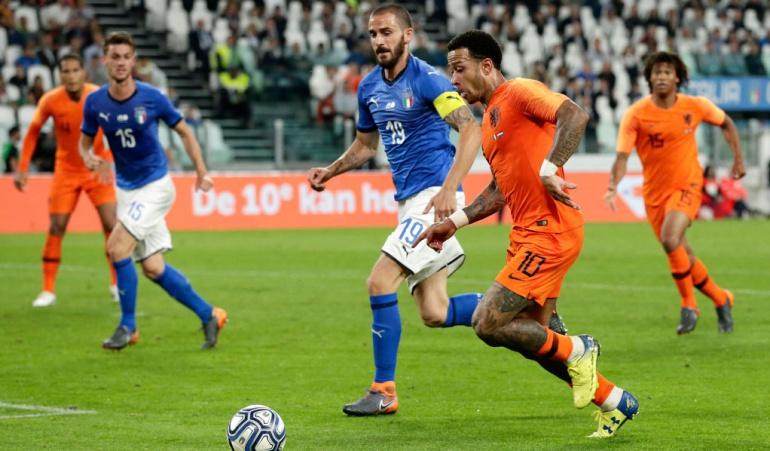 Holanda 1-1 Italia amistoso: Clásico de eliminados del Mundial terminó en empate: Italia 1-1 Holanda