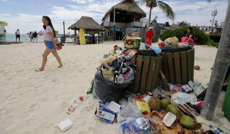 Al año, sólo se recicla el 9% del plástico usado en el mundo