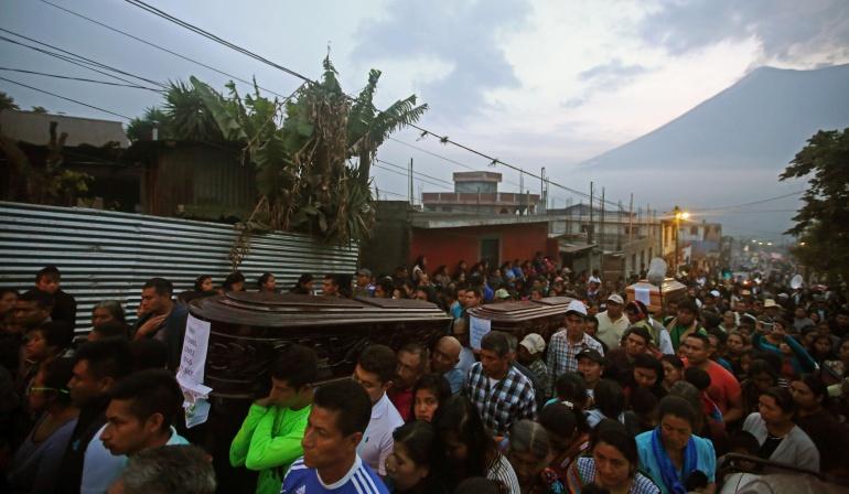 El drama en Guatemala por el Volcán de Fuego