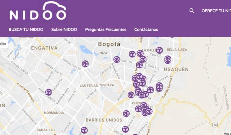Búsqueda de Parqueaderos por Internet: Nidoo la plataforma que permite buscar y reservar parqueaderos por internet