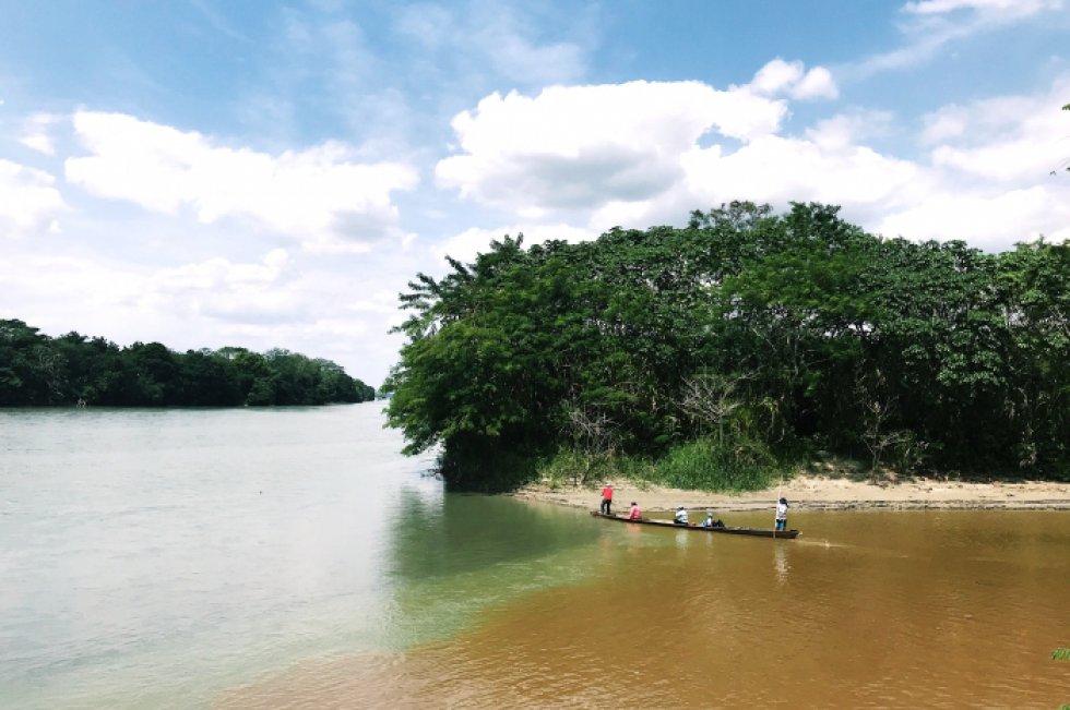 Puerto Lleras, Meta. Río Ariari - Ana María Torres Martínez