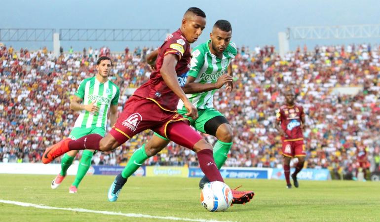 Tolima Nacional final Liga Águila Tolima- Nacional primer capítulo de la gran final de la Liga Águila