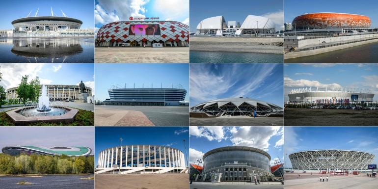 estadios rusia 2018: Conozca los 12 estadios para el Mundial de Rusia 2018
