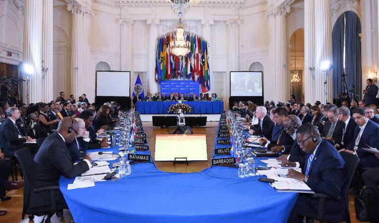 Crisis Venezolana: La OEA aprueba resolución que abre las puertas a suspensión de Venezuela