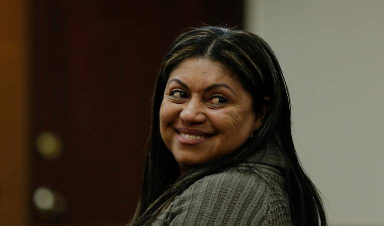 Oneida Pinto ex gobernadora de la Guajira