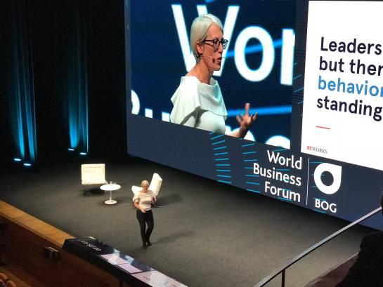 """World Business Forum: """"Todos tenemos potencial de tener un pensamiento científico"""", Kelly Peters"""